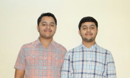 Yashraj and Yuvraj – 17 yrs Young Researchers.